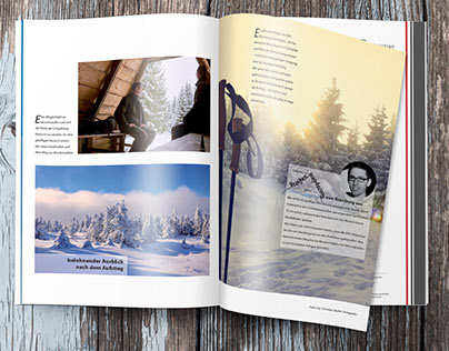 Here I present some projects of my magazine design.