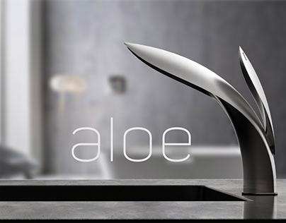 Aloe - Bathroom Mixer Tap