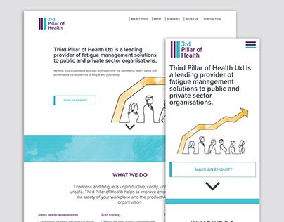 Third Pillar of Health | Website & Word Template