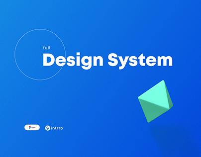 Design System of startup Intrro