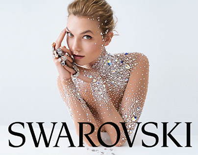 Swarovski e-commerce concept