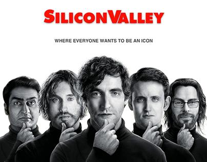 Silicon Valley Poster Design