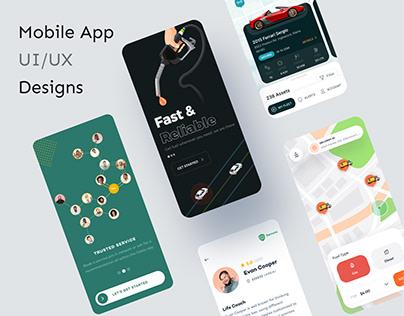 Mobile App Designs   UI/UX