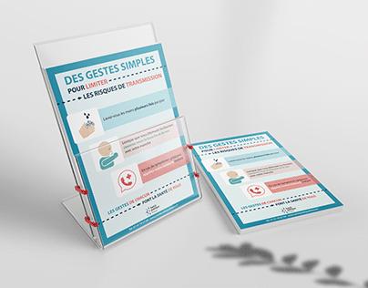 Infographie - Affiche de santé
