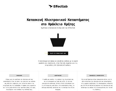 Effectlab E-shop (2016)