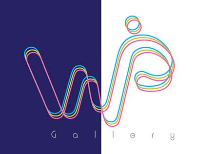 WIP Art Gallery Branding