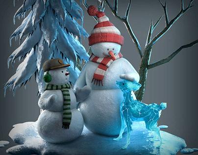 Aero Snowman