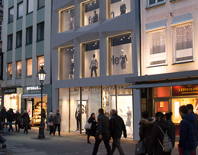 Munich - Revitalization ofbuilding in downtown