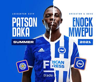 Patson Daka & Enock Mwepu Announcement