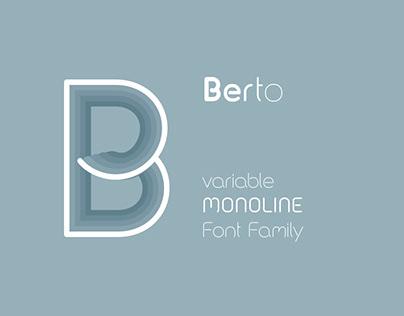 Berto Font Family