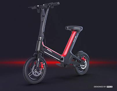 PXID portable electric bike moped with brush-less