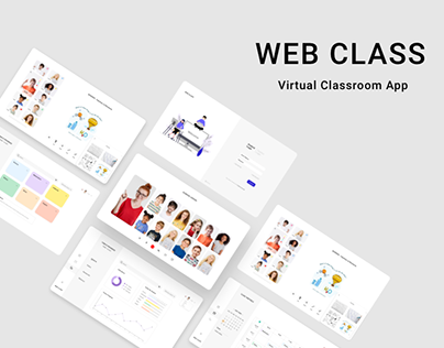 WEB CLASS Virtual Classroom   UX/UI Design