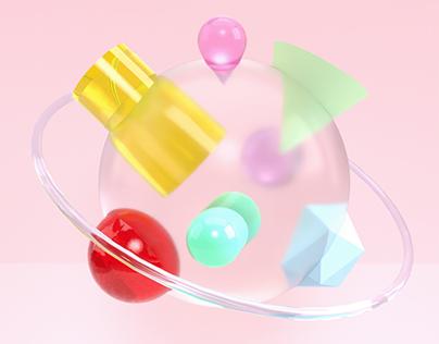 3D Object Studies
