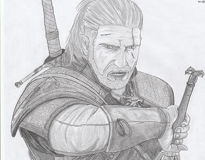 Desenho Casual - Geralt