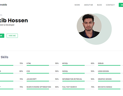 Bootstrap 4 Portfolio for Freelancers