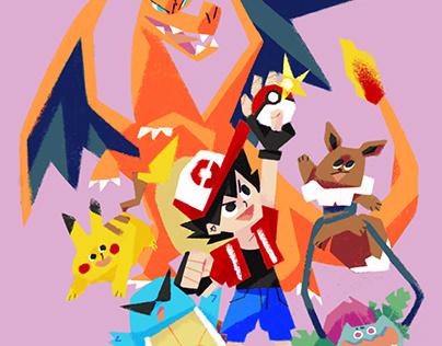 Pokemon fanart (again?!)