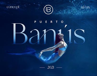Puerto Banús Website Redesign Concept