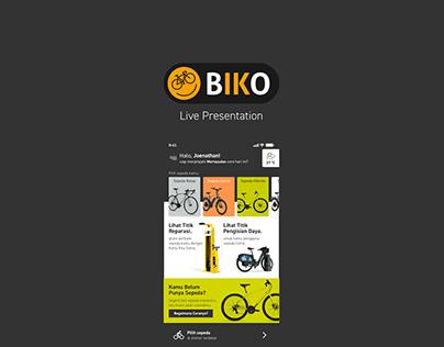 Gowes App by Biko V2 (Live XD Presentation)