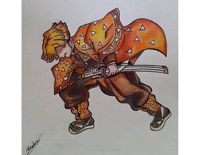 Zenitsu-Demon Slayer