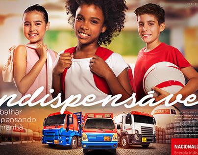 """Campanha """"Nacional Gás"""" ENERGIA INDISPENSÁVEL"""