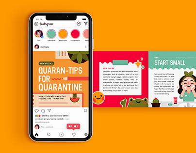 Quaran-tips for Quarantine