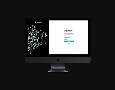 Zorgportaal UI/UX