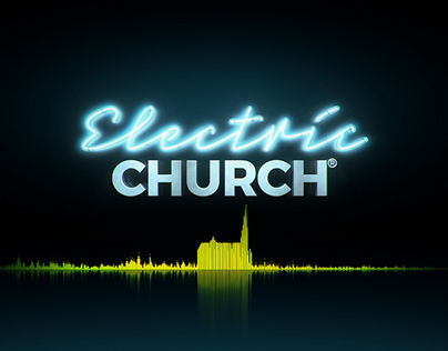 Electric Church - Logo animation in Element 3D