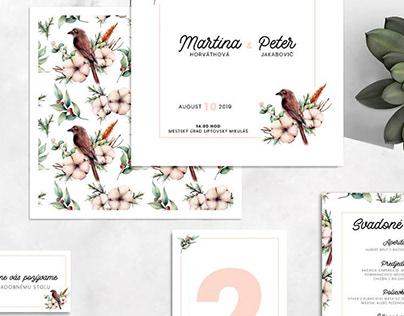 SEFORA wedding invitations