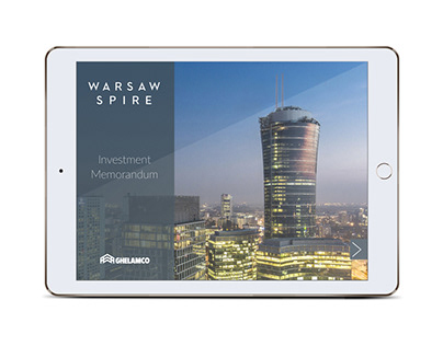 Warsaw Spire - application for tablets