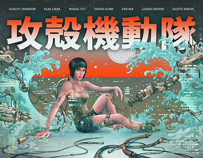 Ghost In The Shell ▲ Paramount Pictures Project