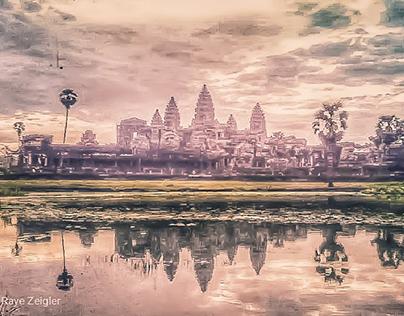 """""""Sunrise at Angkor Wat"""" 2019"""