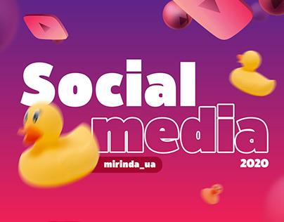 MIRINDA_social media design 2020