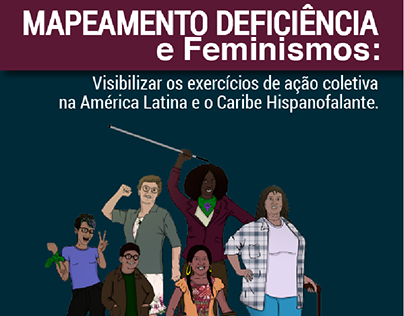 Mapeamento deficiência e feminismos · FAU