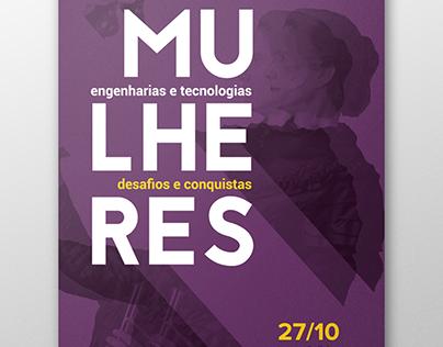 Mulheres nas engenharias e tecnologias [cartaz]