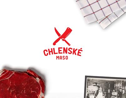 CHLENSKÉ MASO - logo