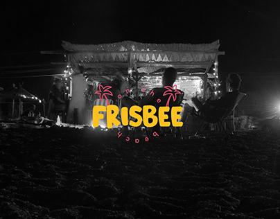 - Frisbee On The Beach - Branding