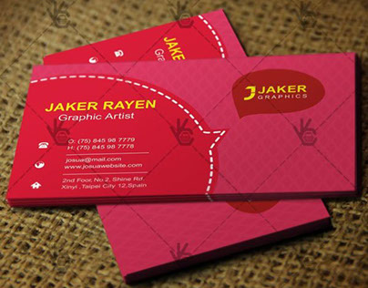 Graphic Artist Business Card – Free PSD Template