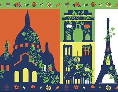 Paris écologique - Campagne d'affichage