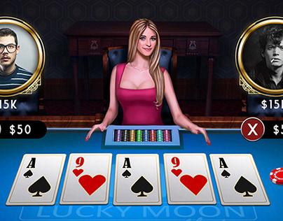 Poker game art