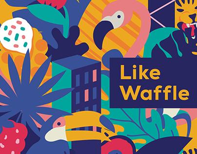 Like Waffle