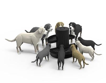 Dooder - Comedero para perros