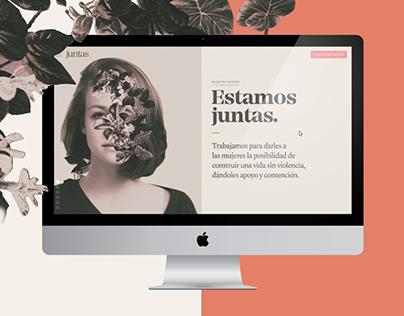 Juntas | Red de mujeres | Página web