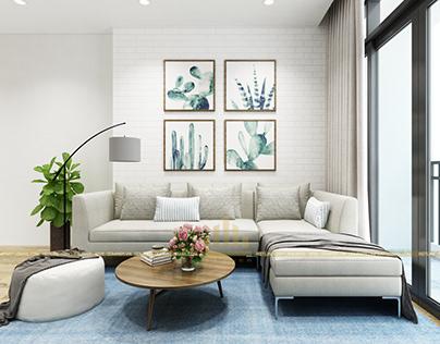 Thiết kế nội thất chung cư VinhomesGardenia – Chị Hương