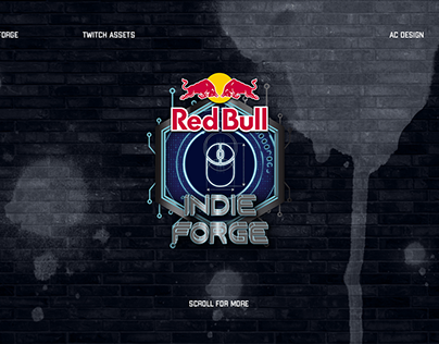 Red Bull Indie Forge - Twitch Assets
