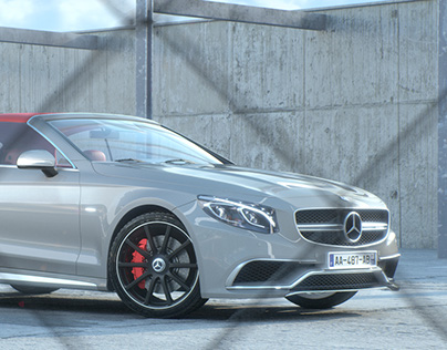 Mercedes | Redshift3D Renders + Animation(full CGI)