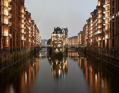 Hamburg Old Speicherstadt