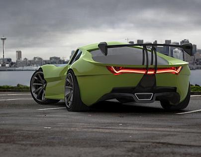 VR concept car