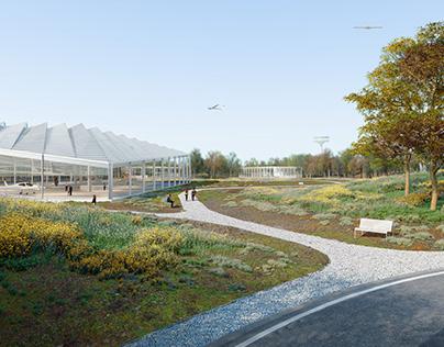 Calverton Airport