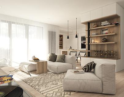 M.A. | Warm Apartment - work in progress
