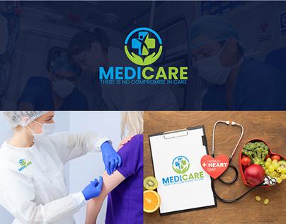 Logo Design | Medicare | Health Care | Clinic| Hospital